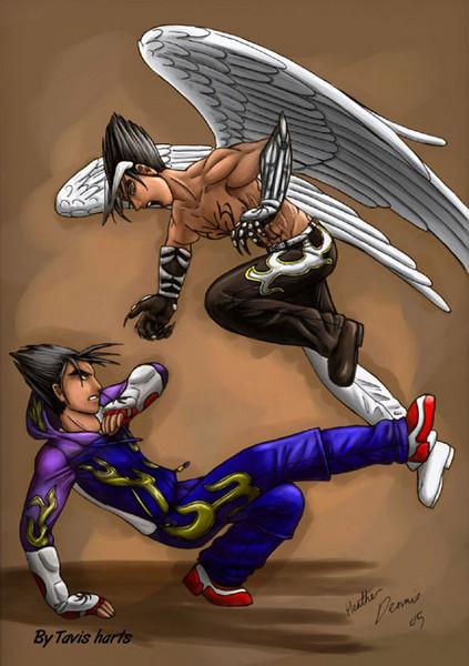 Jin vs devil Jin