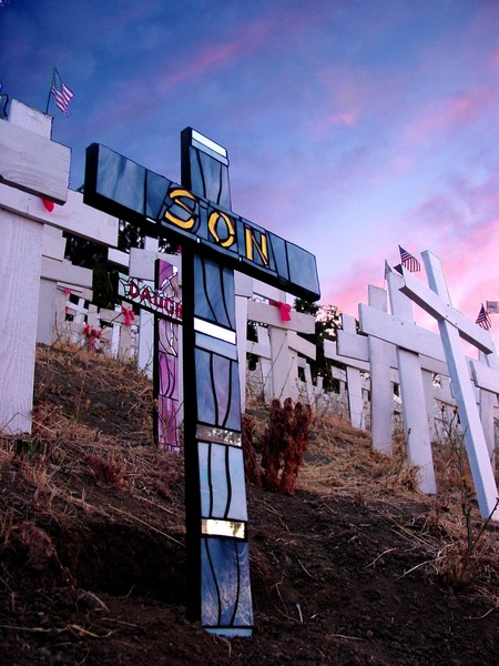 Son at Dawn Cross by Connie English image by Chris