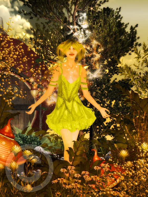 Elven Garden Magic