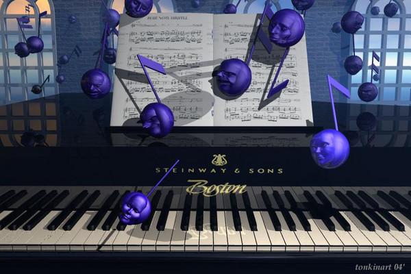 blue note shuffle