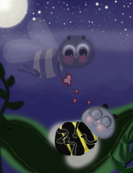 A Bee Called Kangaroo-Book Illustration
