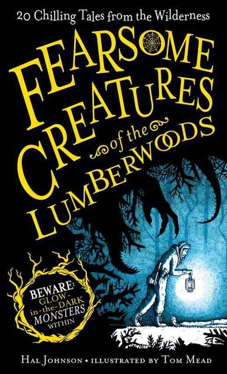'Fearsome creatures book cover'