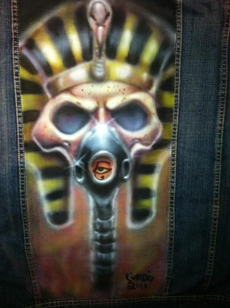 Airbrushed Pharaoh Jacket