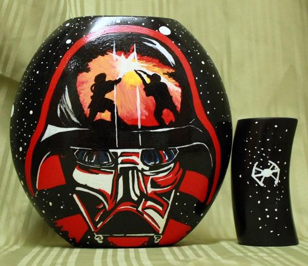 Darth Vader vase