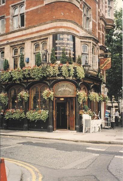 Bloomsbury Pub London