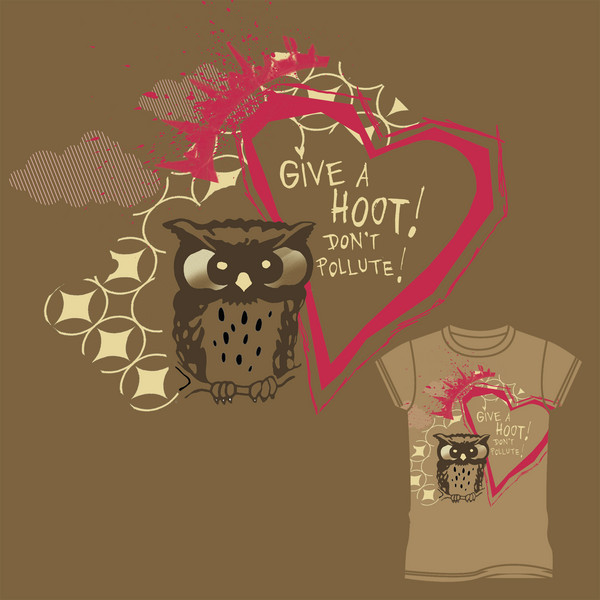 give a hoot dammit.......