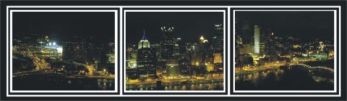 City of Pittsburgh Triptych