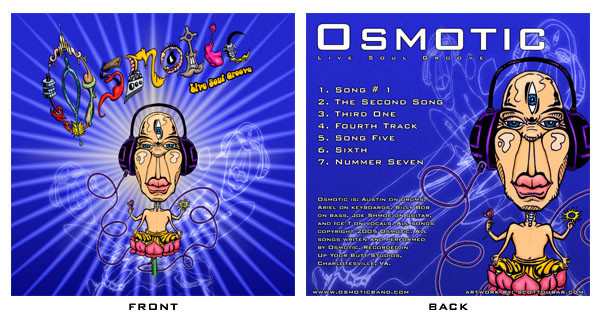 Osmotic CD Cover: front/back