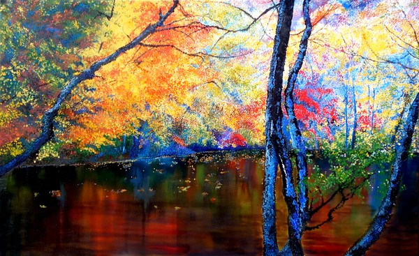 Autumns silent tapestry