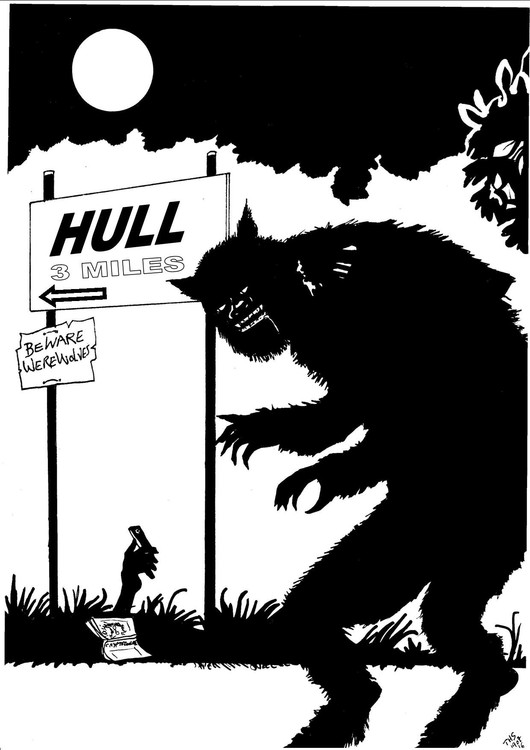 A Visitor's Guide To Hull -The Hull Werewolf