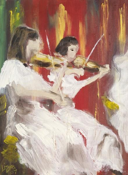 Phantom Musicians by Liz Sutcliffe