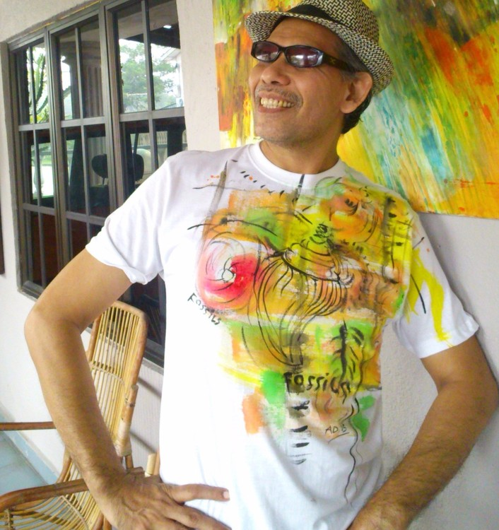 t shirt hand painted