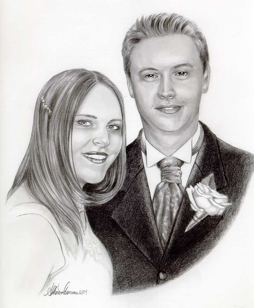 Koontz Wedding Sketch