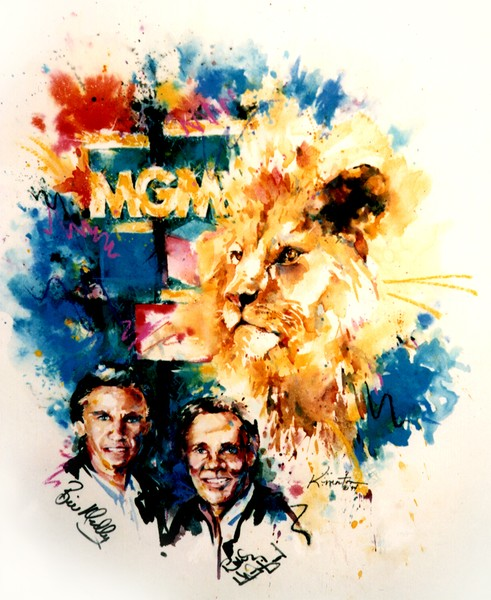 Painting for MGM Grand & The Righteous Brothers