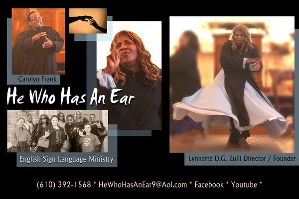 He Who Has An Ear English Sign Language Ministry