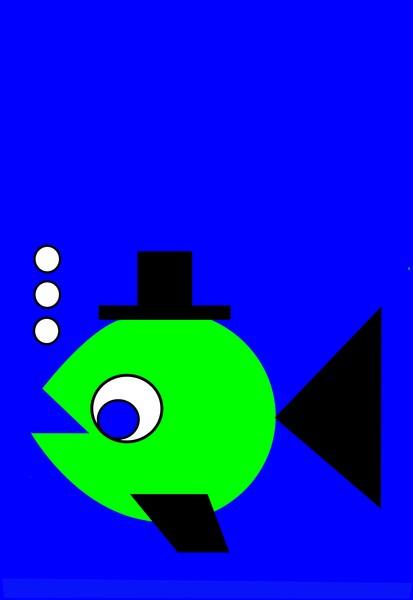 Bubbling Hat Fish  Kopi