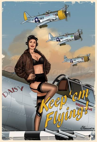 Keep 'em flying!