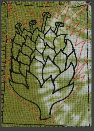 protea flower aceo by inkyspider