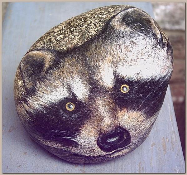 Raccoon Mask Spiritkeepers Stone