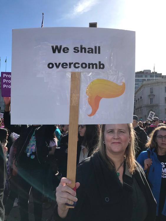 SF Women's March 2018