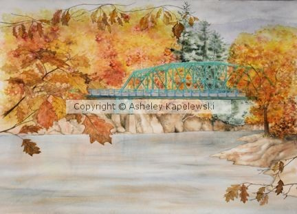 Bridge at Gilead  Androscoggin R