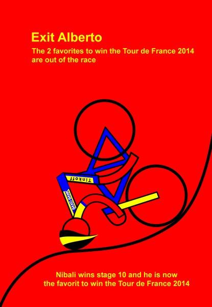 tour de france 2014 stage 10 exit alberto