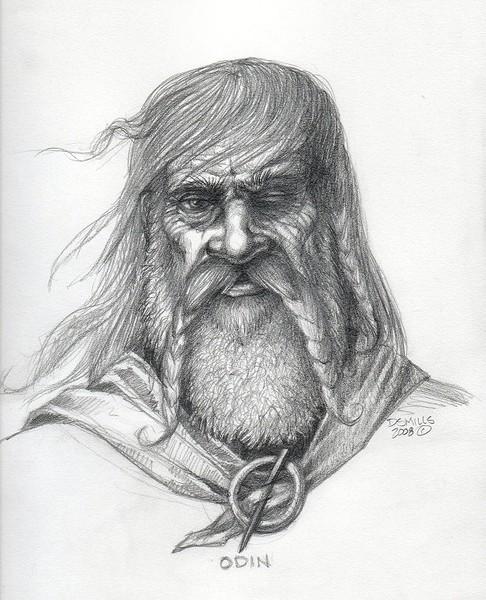 Odin Sketch
