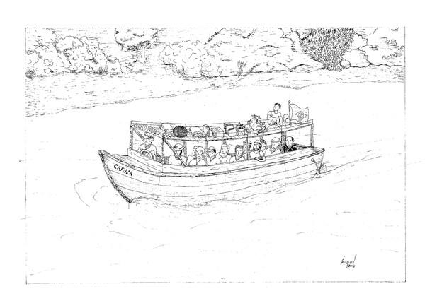 São Francisco boat