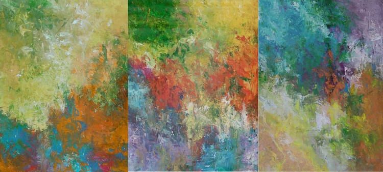 Colors of Beauty  48x108 in.