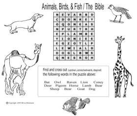 Animals. Birds, Fish/The Bible