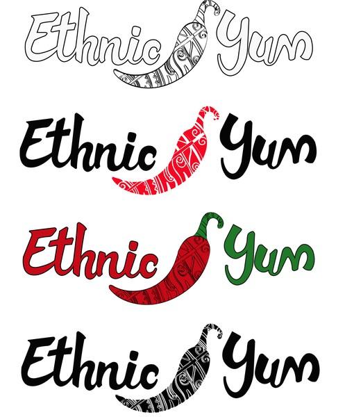 Ethnic Yum Logo Concepts