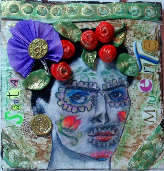 Santa Muerte- a humble tribute to Frida Khalo