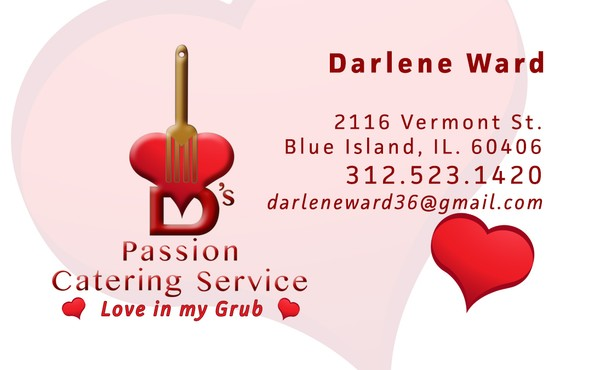 D's Passion business card