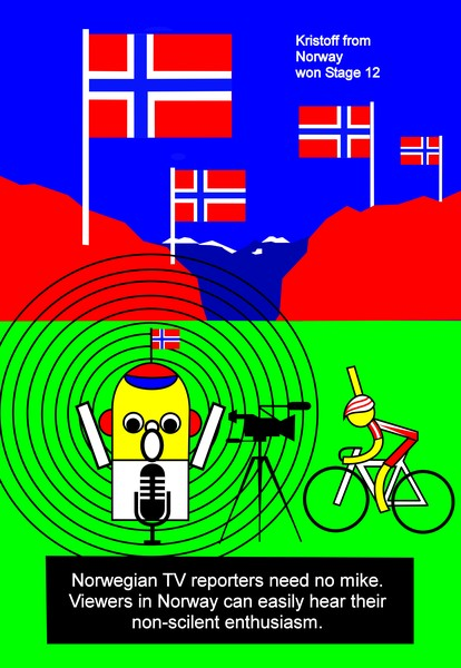 tour de france 2014 stage 12 kristoff norway