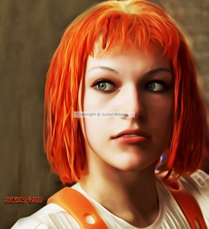 Leeloo from the Fifth Element