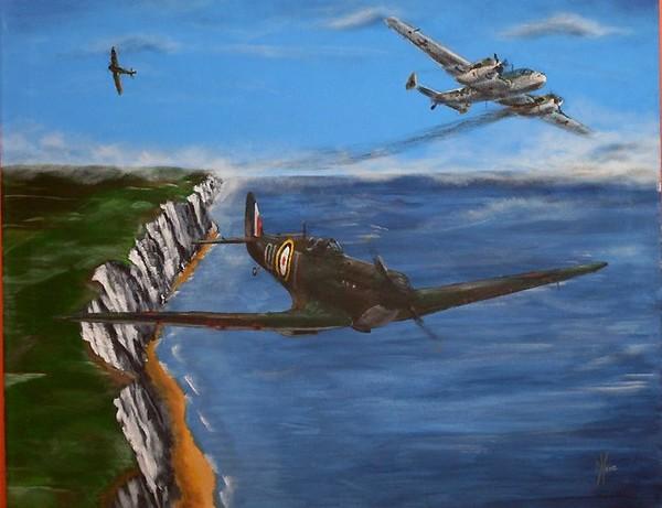 Spitfire vs BF110