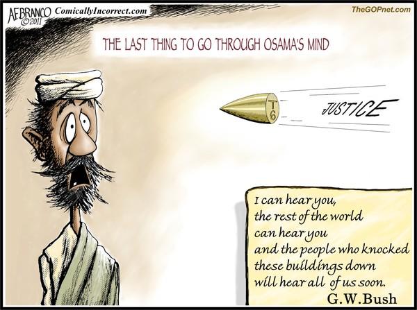 Osama's Mind (Cartoon)
