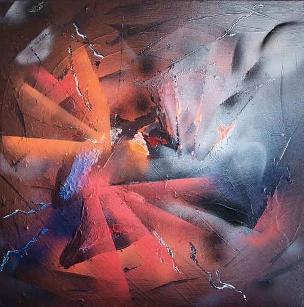 abstract sprayart 3