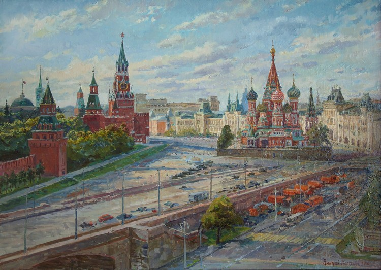 Pokrovsky Cathedral on Red Square