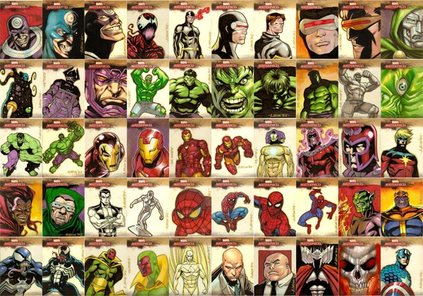 Marvel Masterpieces Series 2 2008