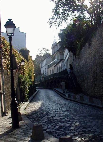 Rue Saint Vincent, Monmartre