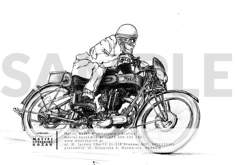 Portfolio Item - sketch updated Maciej Kozak Motorcycle2 kjh