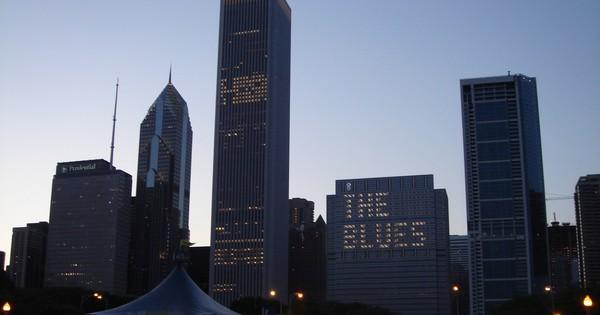 Chicago Skyline @ BluesFest