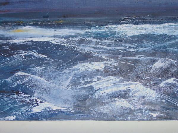 Heavy Sea Antrim Coast