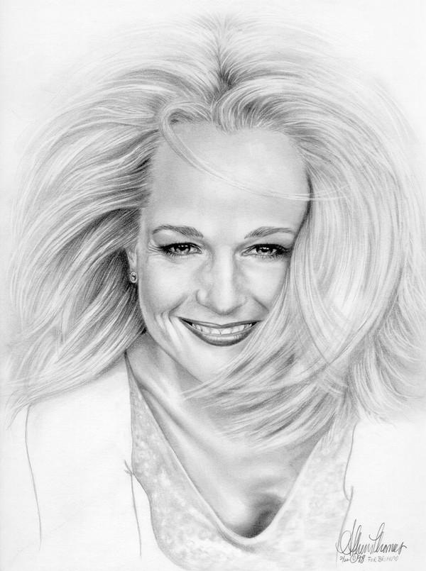 Portrait of Helen Hunt