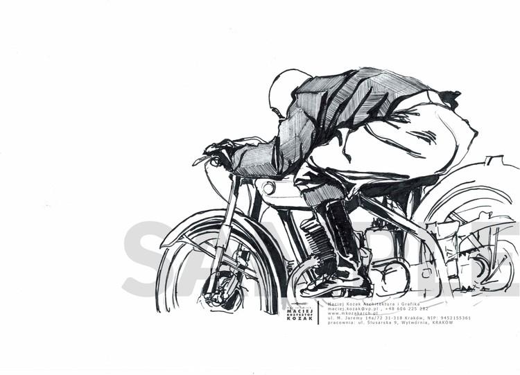 Portfolio Item - sketch updated Maciej Kozak Motorcycle kjh