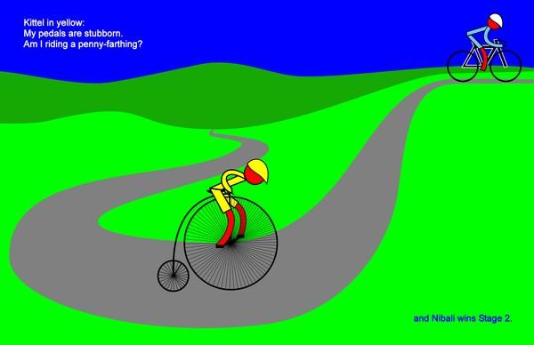 tour de france 2014 stage 2 kittel nibali