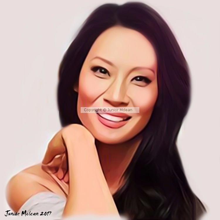 Lucy Liu Artwork 2017