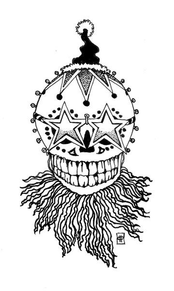 Sugar Skull Santa