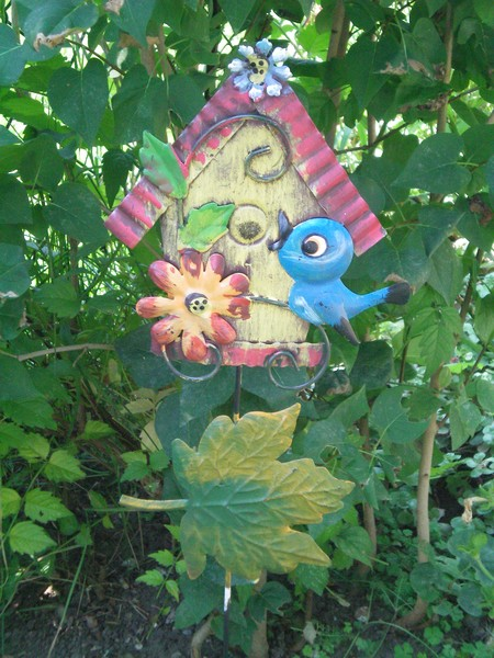 In the garden!!.........